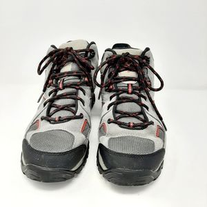 Columbia Waterproof Gray Lace Up Hiking Boots